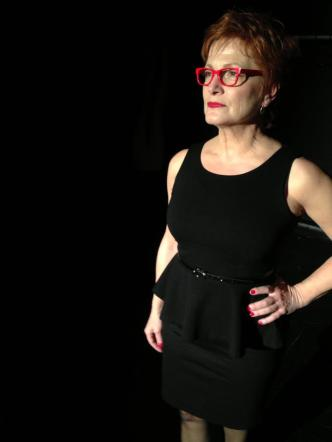 Frances McGarry performing %22Reclaiming Cunt%22 in The Vagina Monologues 2013 at HERE, directed by Andrea Bertola. — with First Online with Fran and Frances McGarry at HERE Arts Center.